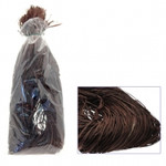 450g Chocolate Brown Raffia