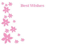 Best Wishes - Pink