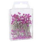 Lavender Pearl Pins (4cm)