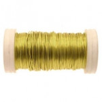 Lemon Metallic Reel Wire 100g