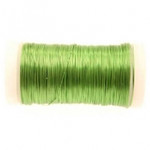 Lime Green Metallic Reel Wire 100g