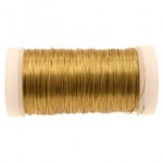 Gold Metallic Reel Wire 100g