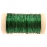 Green Metallic Reel Wire 100g
