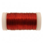 Red Metallic Reel Wire 100g