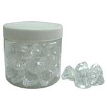 300g Clear Acrylic Diamonds