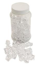 290gr Jar Lrg Clear Acrylic Stones