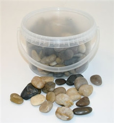 4kg Bucket 2-4cm Mixed Stone