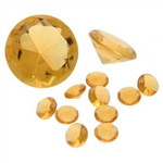 Assorted Light Amber Diamonds