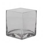 Glass Cube 12X10cm