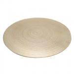 Gold Swirl Mirror Plate (40cm)
