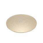 Gold Swirl Mirror Plate (30cm)