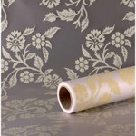Cream Loretta Frosted Film (80cm x 50m)
