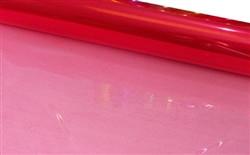 80cm Red Tint Cellophane