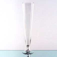 Conic Vase with Bubble (58x11cm)