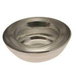 Silver Round Tealight Holder