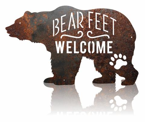 Bear Feet Welcome