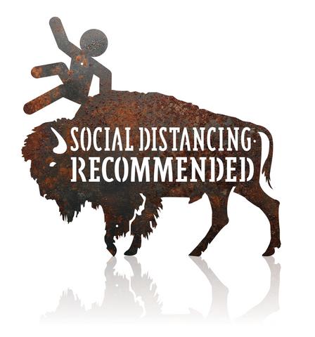Buffalo Social Distance