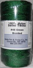 Green Braided Twine #48