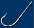 MUSTAD FORGED STAINLESS STEEL HOOKS 34009-3/0