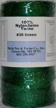 Green Twisted Nylon Twine #30