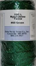 Green Twisted Twine #60