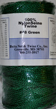 Green Twisted Nylon Twine #48