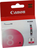 Canon 0622B002 (CLI-8M) Magenta Ink Cartridge Original Genuine OEM