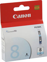 Canon 0624B002 (CLI-8PC) Photo Cyan Ink Cartridge Original Genuine OEM