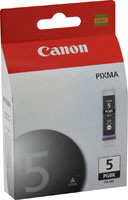 Canon 0628B002 (PGI-5) Pigment Black Ink Cartridge Original Genuine OEM