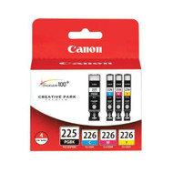 Canon 4530B008 4 Color Inkjet Cartridge Multipack Original Genuine OEM