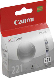 Canon 2950B001 (CLI-221GY) Gray Ink Cartridge Original Genuine OEM