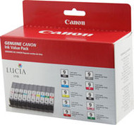 Canon 1033B005 Combo Pack (Mbk/Pbk/C/M/Y/Pc/Pm/R/G/Gr) Ink Cartridge Original Genuine OEM