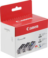 Canon 1509B007 Combo Pack (Bk & Clr) Ink Cartridge Original Genuine OEM