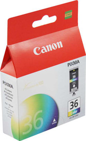 Canon 1511B002 (CLI-36) Color Ink Cartridge Original Genuine OEM