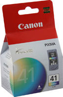 Canon 0617B002 (CL41) High Yield Color Ink Cartridge Original Genuine OEM