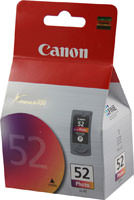 Canon 0619B002 (CL52) High Yield Photo Ink Cartridge Original Genuine OEM