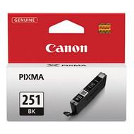 Canon 6513B001 (CLI-251) Black Ink Cartridge Original Genuine OEM