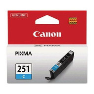 Canon 6514B001 (CLI-251) Cyan Ink Cartridge Original Genuine OEM