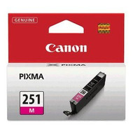 Canon 6515B001 (CLI-251) Magenta Ink Cartridge Original Genuine OEM