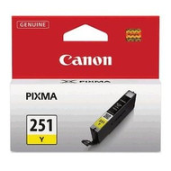 Canon 6516B001 (CLI-251) Yellow Ink Cartridge Original Genuine OEM