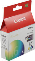 Canon 9818A003 2-Pack Color Ink Cartridge Original Genuine OEM