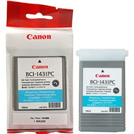 Canon BCI-1431PC Photo Cyan Ink Cartridge Original Genuine OEM