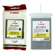 Canon BCI-1431Y Yellow Ink Cartridge Original Genuine OEM