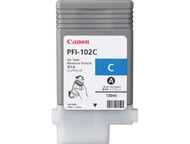 Canon PFI-102C Cyan Ink Cartridge Original Genuine OEM