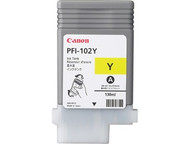 Canon PFI-102Y Yellow Ink Cartridge Original Genuine OEM
