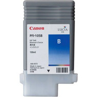 Canon PFI-105B Blue Ink Cartridge Original Genuine OEM