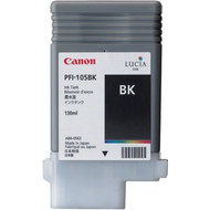 Canon PFI-105BK Black Ink Cartridge Original Genuine OEM
