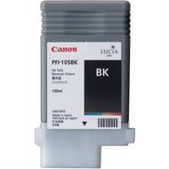 Canon PFI-105BK Black Ink Cartridge Original Genuine OEM