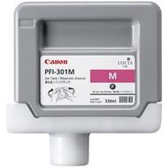 Canon PFI-301M Magenta Ink Cartridge Original Genuine OEM