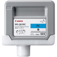Canon PFI-301PC Photo Cyan Ink Cartridge Original Genuine OEM